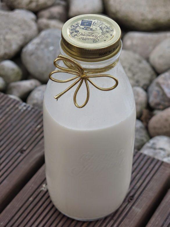 Mleko roślinne - orzechowe (raw vegan)