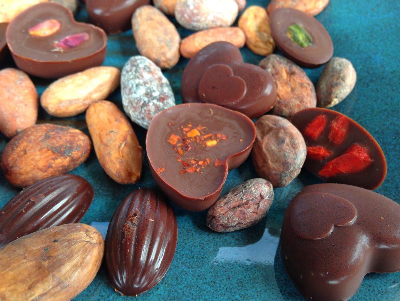 Czekoladki z masła kakaowego