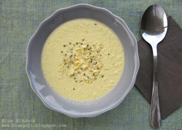 Surowa Zupa z Kukurydzy