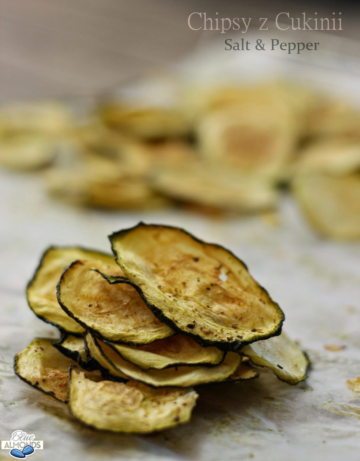 Chipsy z Cukinii Pieprz & Sól