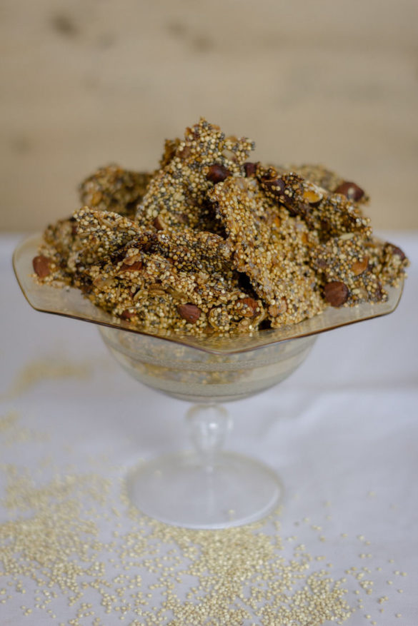 Słodka przkąska z komsy ryżowej