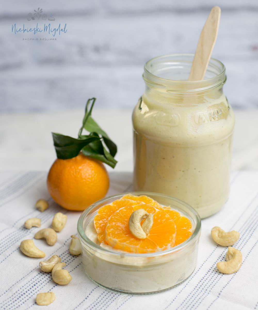Wegański jogurt jaglany_przepisy Niebieski Migdał