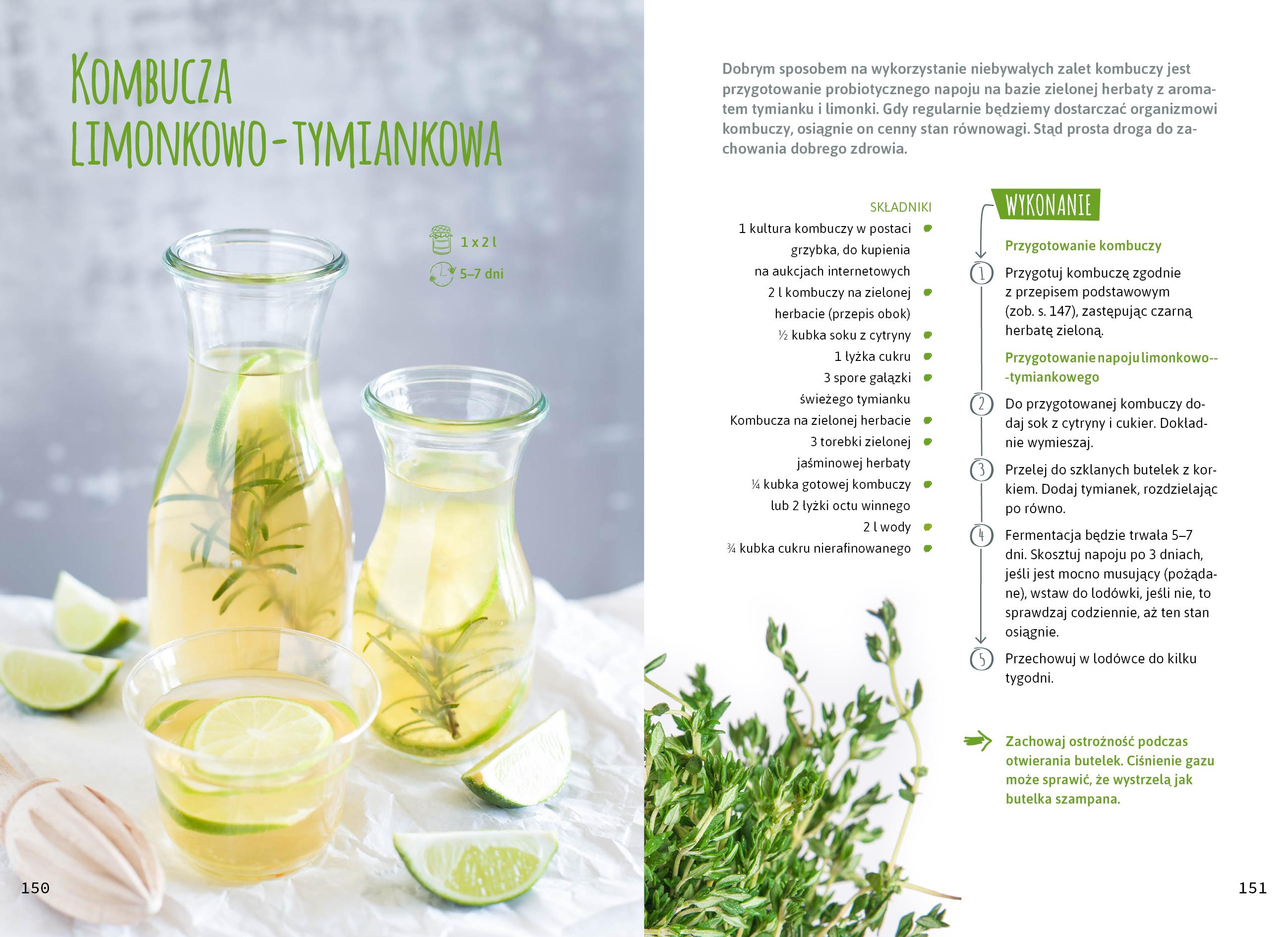 Domowe kiszonki_Magdalena Pieńkos_Niebieski Migdał_Przepis_Kefir wodny z limonką_przepis